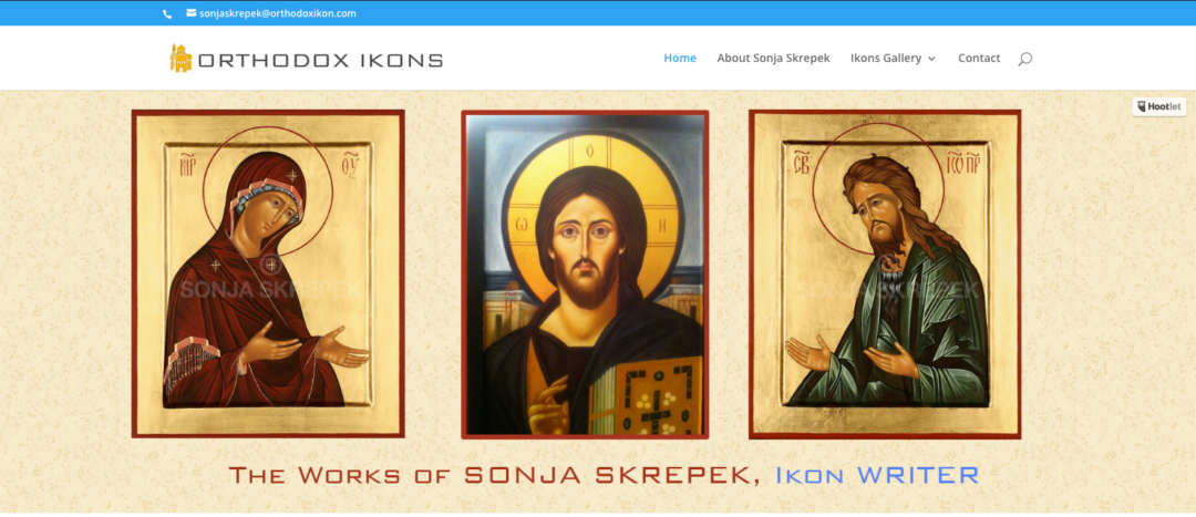 Web Site: Orthodox Ikons